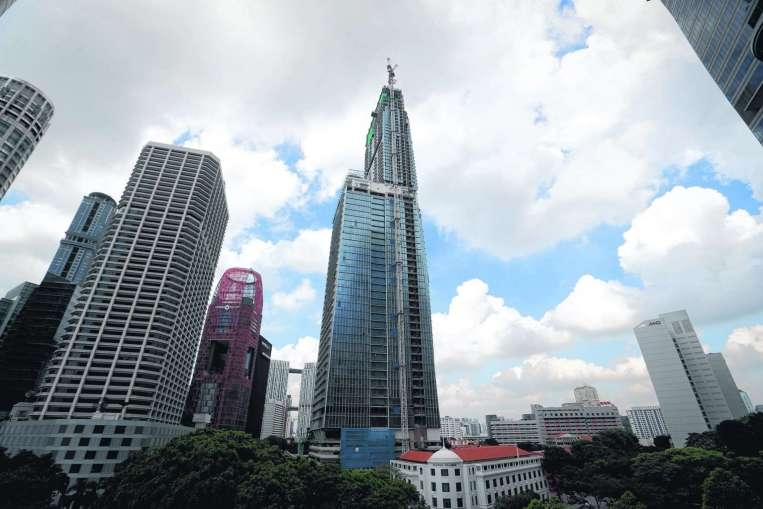 Citi commercial pte ltd - Singapore tallest building swimming pool ...